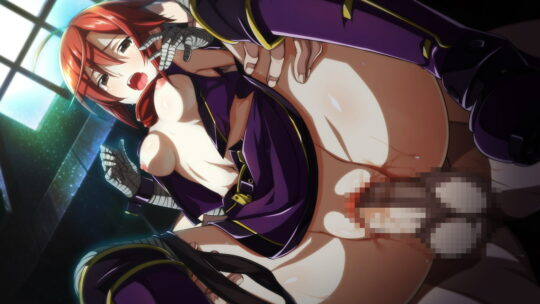 【情熱の赤】赤髪娘とセックスしてる二次エロ画像【50枚】part.7