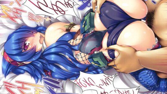 【藍より青し】清涼感のある水色・青髪娘とセックスしてる二次エロ画像【50枚】part.11