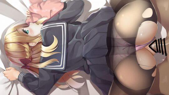 【学生美女】学校の制服でセックスしている二次エロ画像【50枚】part.14